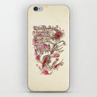 Egon Bondy's Happy Heart… iPhone & iPod Skin