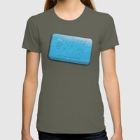 White Club Womens Fitted Tee Lieutenant SMALL