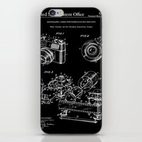 Camera Patent 1963 - Black iPhone & iPod Skin