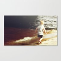 Youthful Abandon Canvas Print