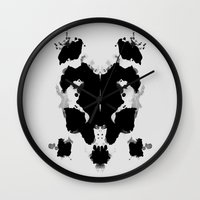 Rorscharch Wall Clock