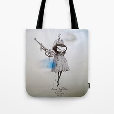 songs that were blue, songs that were grey Tote Bag