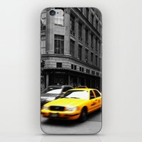 Taxi iPhone & iPod Skin