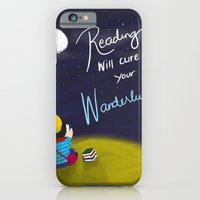 Reading Will Cure Your Wanderlust iPhone 6 Slim Case