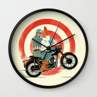 Cap Ride. Wall Clock