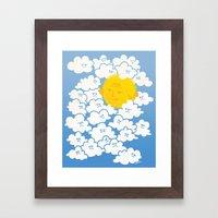 Cloud Control Framed Art Print