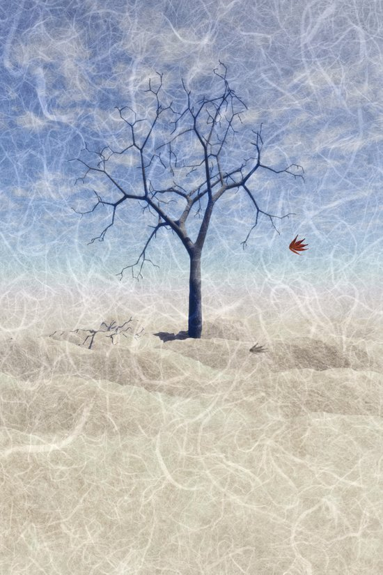 When the last leaf falls Art Print