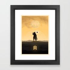 Destiny Hunter Framed Art Print
