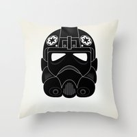 Imperial Pilot Throw Pillow