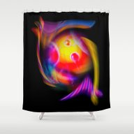 Abstract Perfection 59 Shower Curtain