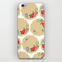Vintage Saucers iPhone & iPod Skin