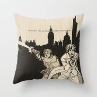 Heroes Throw Pillow