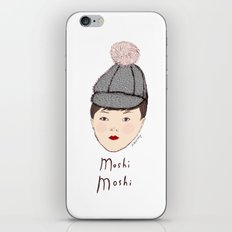 Moshi Moshi - White and Pink iPhone & iPod Skin