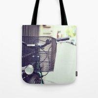Bike in Paris Tote Bag
