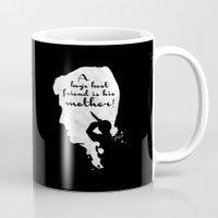 Boy's best friend – Norman Bates Psycho Silhouette Quote Mug
