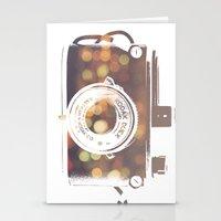 camera print Stationery Cards