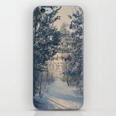 Inspirational bullshit iPhone & iPod Skin