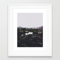 An Irish View Framed Art Print