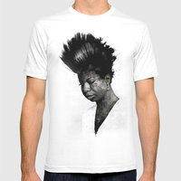NINA'S NOT DEAD Mens Fitted Tee White SMALL