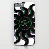 Green Egyptian Sun iPhone 6 Slim Case