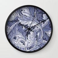 Acanthus Nouveau Style I… Wall Clock