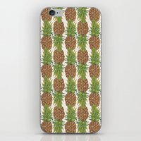 PINA COLADA: pineapple iPhone & iPod Skin