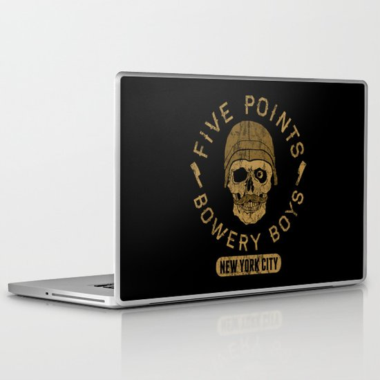 Bad Boy Club: Five Points Bowery Boys Laptop & iPad Skin
