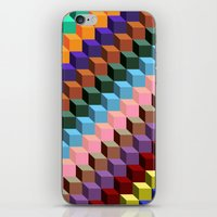 Up And Down iPhone & iPod Skin