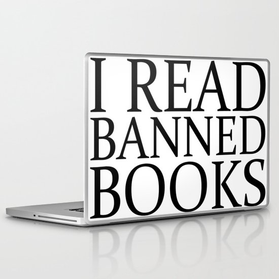 Banned Books Laptop & iPad Skin