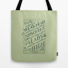 Jane Austen Covers: Emma Tote Bag
