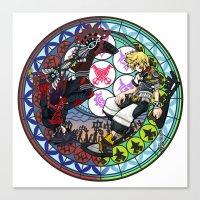 Kingdom Hearts Vanitas &… Canvas Print