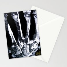 Hand Bones Stationery Cards