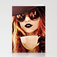 Comfortable Silences - in color Stationery Cards