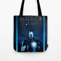 IRON AMERICA 9/11 Tote Bag