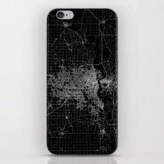 Omaha Map Nebraska iPhone & iPod Skin