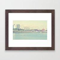 Seaside ~ Long Beach ~ C… Framed Art Print