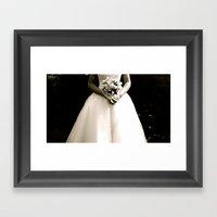 WHITEOUT : Wedding Day Framed Art Print
