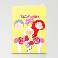 ENDOvisible - Boxfit - C… Stationery Cards