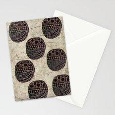 Polka Scarab Stationery Cards