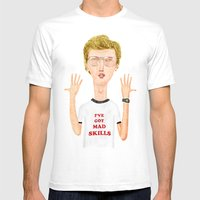 Napoleon, What Do You Th… Mens Fitted Tee White SMALL