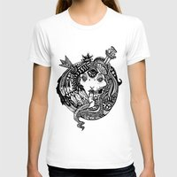 Snakes and Arrows Womens Fitted Tee White SMALL