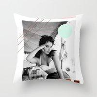 E.T. Collage Throw Pillow