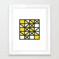#138 Optional – Geometry Daily Framed Art Print