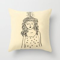 Selene Throw Pillow