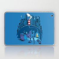 The Cat in the Underground Flat Laptop & iPad Skin