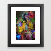 Wait Foxy Lady Framed Art Print