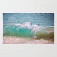 Caribbean Wave Rug