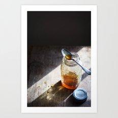 Sunlight and Honey - Kitchen Food Art Art Print