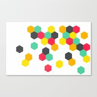 Crazy Clusters Canvas Print