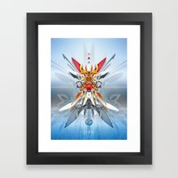 Monark Framed Art Print